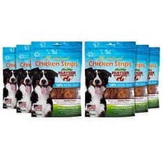 Healthy Partner Pet Snacks - All-Natural Chicken Strips - 3 oz. Bags, Pack of 6 * You can get more details by clicking on the image. (This is an affiliate link) Dog Snacks, Dog Treats, Chicken Strips, Dog Food Recipes, Coding, Pets, Healthy, Amazon, Natural