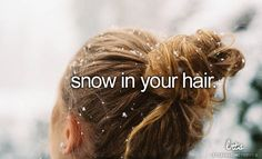It melts quickly and gets your hair wet, but is so worth it(: