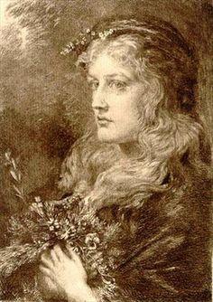 Ophelia by Anna Lea Merritt, 1889.