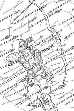 DC Comics Arrow Adult Coloring Book: An Adult Coloring Book