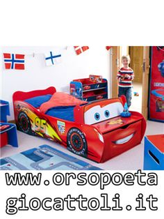 Superbe Your Little Disney Cars Fan Will Love Bedtime Now With This Fantastic Lightning  McQueen Toddler Bed. Made From Sturdy MDF And Boasting Colourful Disney Cars  ...