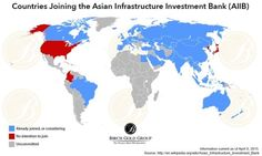 AIIB Asian Infrastructure Investment Bank Countries