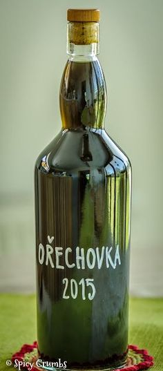 Ořechovka - Spicy Crumbs Home Canning, Holidays And Events, Raw Food Recipes, Whiskey Bottle, Smoothies, Drinking, Diy And Crafts, Food And Drink, Homemade