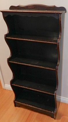 Vintage Wood Shelf. Tall Distressed Book by LAREfurbish on Etsy, $300.00...I want this!!!