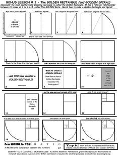 Draw a Golden Rectangle & Spiral!