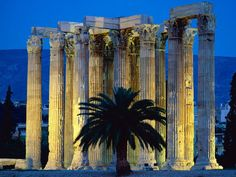 temple of Zeus, Athens, Greece