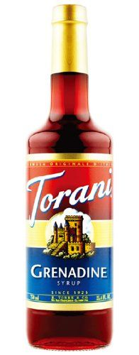 Torani Grenadine Syrup, 750 ml Bottle ** More info could be found at the image url. #CoffeeDrinks