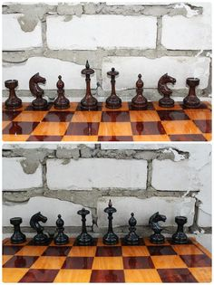 Awesome carved player pieces Board Games Pinterest Chess