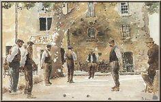 Image result for peinture pétanque