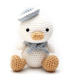 Buy Lil Quack the Duck amigurumi crochet pattern by Little Muggles