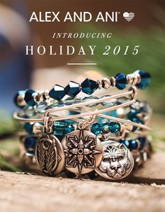 Check out the new Holiday 2015 Jewelry by Alex and Ani!