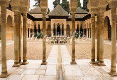 pillared courtyard