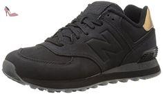 574, Baskets Homme, Noir (Black), 41.5 EUNew Balance
