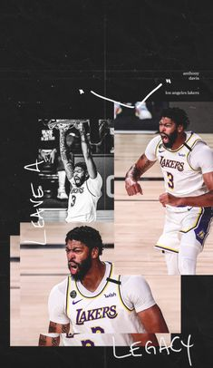 Anthony Davis wallpaper Lebron James Wallpapers, Nba Wallpapers, Nba Players, Basketball Players, Lakers Wallpaper, Kobe Bryant Pictures, Baskets, Lakers Kobe, Victoria Beckham Style