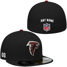 519736c88dc27 New Era Atlanta Falcons Men s Custom On-Field 59FIFTY Football Structured  Fitted Hat