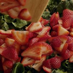 Ricetta Insalata fragole e spinaci