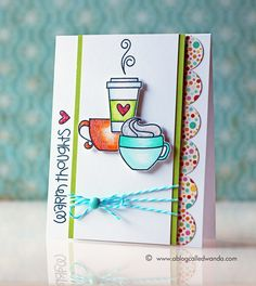 Paper Smooches challenge card by Wanda Guess