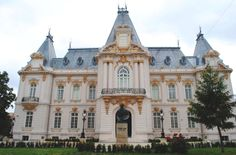 The Art Museum of Craiova is located in Jean Mihail palace - built in late XIX century ♦ . Famous Architecture, Carpathian Mountains, Famous Castles, English Style, Travel List, Eastern Europe, Art Museum, Barcelona Cathedral, Places To Go