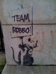 Banksy v Team Robbo