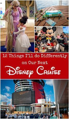 Things to do on a Disney Cruise. Things I'd do differently next time and tips to…