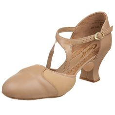 "$58.02-$86.95 Capezio Women's Broadway Flex Character Shoe,Caramel,8 M US - Capezio®'s ""Broadway Flex"" features a leather and Neonprene upper that provides flexibility and comfort.  The elasticized top-line eliminates gapping.  Other features include a cushioned suede sole, 2"" flared heel providing a larger strike zone for added stability, full pig socklining and padded insoles, a supportive dual  ..."