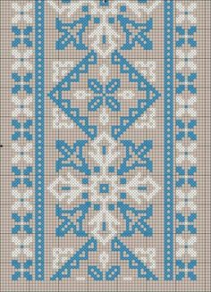 Crochet Flower Patterns, Embroidery Patterns Free, Cross Stitch Embroidery, Cross Stitch Patterns, Embroidery Designs, Knitting Patterns, Hand Embroidery, Cross Stitch Alphabet, Tapestry Crochet