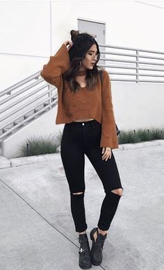 Want these korean fashion trends Uni Outfits, Mode Outfits, Trendy Outfits, Fashion Outfits, Fashion Ideas, Fashion Details, Fashion Clothes, Fashion Trends, Fashion Tips