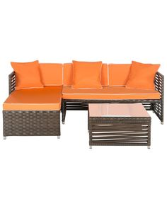 """Spotted this Set of 3 """"Likoma"""" Outdoor Set on Rue La La. Shop (quickly!)."""
