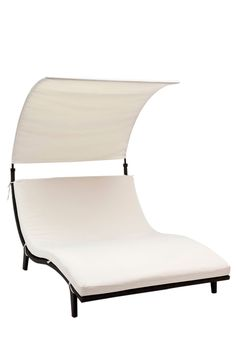 Outdoor Concepts Wave Double Chaise with Canopy