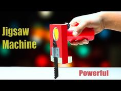 How To Make Jigsaw Machine for wood cutting at home - YouTube