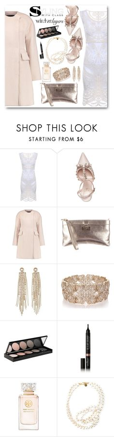 """Winter Layers: Slip Dress"" by brendariley-1 ❤ liked on Polyvore featuring Kate Spade, Giambattista Valli, Charlotte Russe, Oasis, Witchery, Eyeko, Tory Burch, STELLA McCARTNEY, women's clothing and women's fashion"
