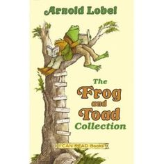 """Griffin says, """"Frog and Toad are brave in their books on a tree!""""  Mama has always loved these books too."""