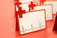 Nurse Place Cards | Food Labels | Nurse Party