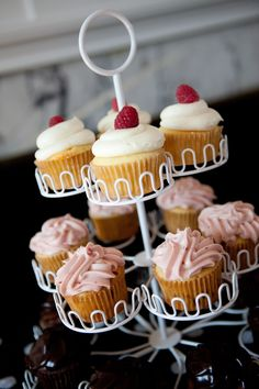 Cupcake Tower  #candigardenparty