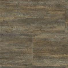 "Konecto Premium Tile 12"" x 24"" Luxury Vinyl Tile - Sea Shell $3.99 per tile. Like the warm brown tones mixed with the gray"