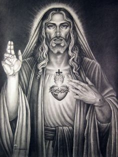 Sacred heart of our lord. by tonyszczudlo on DeviantArt
