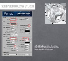 Vray Sylicon Solid-Liquid Glossy 3ds Max Material