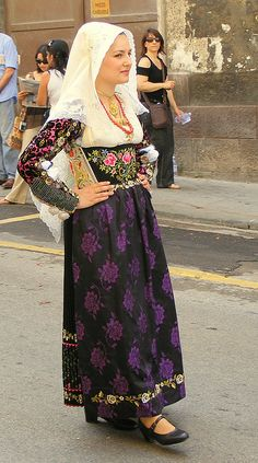 Costume di Uri Sardegna Italy