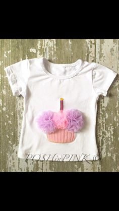 A personal favorite from my Etsy shop https://www.etsy.com/listing/234924638/little-girls-cupcake-chiffon-birthday