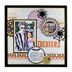 October 31 featuring the Bewitched Collection from We R Memory Keepers - Scrapbook.com