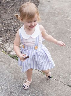 Cute toddler girl style: Lacey Lane and Mini Melissa