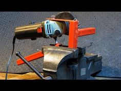 My Favorite Home Made Tool. Get more out of your Grinder, easy tools to make - YouTube