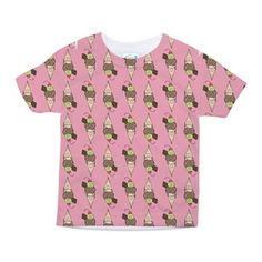 Ice cream - Stay cool Toddler All Over Print Tee