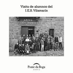 Alumnos del I.E.S. Vilamarín visitan Ponte da Boga.