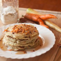 Carrot Pancakes and