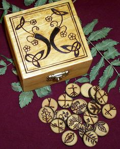 Double-sided Ogham Runes by Lolair on DeviantArt