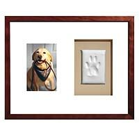 I bought two of these (one for each of my pups) about two years ago. The paw prints came out wonderfully the two frames look really nice in the hall where I hung them.