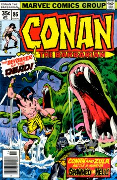 Conan the Barbarian - He Who Waits--In The Well of Skelos! Marvel Comic Books, Comic Book Characters, Comic Books Art, Conan Comics, War Comics, Star Wars Poster, Star Wars Art, Star Trek, Caricature