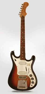 Magnatone  Zephyr X-15 Solid Body Electric Guitar  (1965)