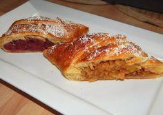 Tiroli rétes | Antukné Ildikó receptje - Cookpad receptek Croatian Recipes, Hungarian Recipes, Sweet Cookies, Strudel, Scones, Biscotti, Lasagna, Naan, French Toast